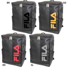 【送料無料】 フィラ FILA メンズ レディース スクエアリュック リュックサック デイパック バックパック バッグ 鞄 撥水 大容量 ボックス型 スクエア型 FL-0006