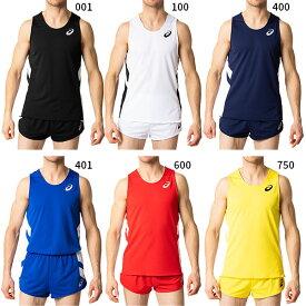 アシックス asics メンズ M'Sランニングシャツ ジョギング マラソン ランニング トップス 陸上競技ウェア ノースリーブシャツ 2091A124