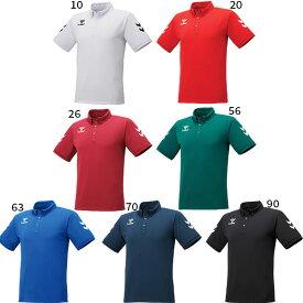 【送料無料】 ヒュンメル hummel メンズ チームボタンダウンポロシャツ トレーニングウェア トップス サッカー フットサル HAP3048