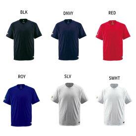 デサント DESCENTE メンズ 野球 ベースボールTシャツ Vネック 半袖 トップス DB-202