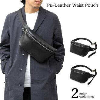 2.5L register REGISTA men gap Dis waist porch mini-bag shoulder bag satchel leather Shin pull casual street mode system sense of quality 602