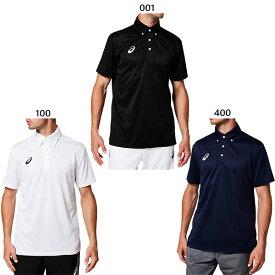 【送料無料】 アシックス asics メンズ OPボタンダウン ポロシャツ トレーニングウェア 半袖 トップス 2031A682
