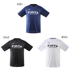 フィンタ FINTA メンズ ベーシック ロゴ Tシャツ サッカーウェア フットサルウェア トップス 半袖Tシャツ FT5156
