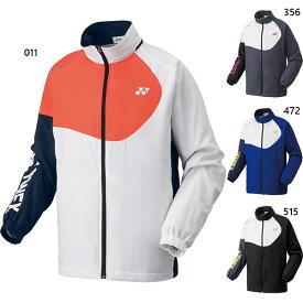 ヨネックス メンズ レディース 裏地付ウィンドウォーマーシャツ ウインドブレーカー トップス 防風 テニス バドミントンウェア 送料無料 YONEX 70068