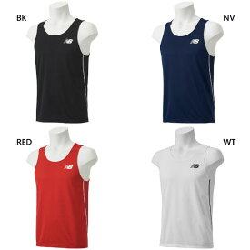 【送料無料】 ニューバランス New Balance メンズ レーシングシャツ ジョギング マラソン ランニング ウェア トップス 陸上競技 JMTR9052