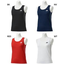 【送料無料】 ニューバランス New Balance レディース レーシングシャツ ジョギング マラソン ランニング ウェア トップス 陸上競技 JWTR9054