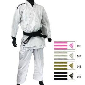 【送料無料】 上下セット アディダス adidas メンズ レディース 3ストライプ 柔道衣 ウェア コンテスト 柔道着 帯なし 上衣 パンツ ズボン トレーニング 練習用 J650SP