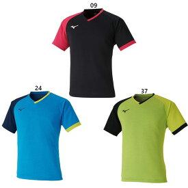【送料無料】 ミズノ Mizuno メンズ レディース ゲームシャツ 卓球ウェア トップス 半袖Tシャツ 82JA0003