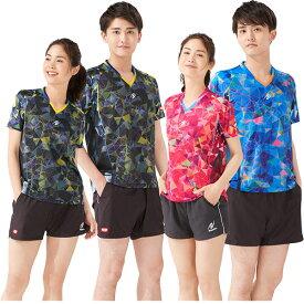 ニッタク メンズ レディース ムーブステンドシャツ MOVESTAINED SHIRT ユニフォーム 卓球ウェア トップス 半袖シャツ 送料無料 Nittaku NW-2191