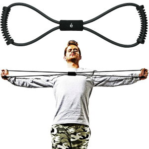 サクライ貿易 メンズ erugam トレーニングチューブ 男性用 筋トレの時間だよ ハード スポーツ用具 全身運動 フィットネス エクササイズ 体幹 筋肉 送料無料 SAKURAI 54148