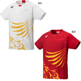 【送料無料】 ヨネックス YONEX メンズ ゲームシャツ フィットスタイル テニス バドミントンウェア トップス 半袖Tシャツ 涼感 ベリークール ナショナルチームモデル 10380