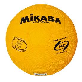 練習球 2号球 ミカサ レディース スポーツテスト用 学校教材 HR2-Y ハンドボール 送料無料 MIKASA HR2Y