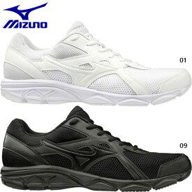 【送料無料】 幅広 3E ミズノ Mizuno メンズ レディース ジュニア マキシマイザー 22 スニーカー シューズ 運動靴 紐靴 ジョギング マラソン ランニングシューズ K1GA2002