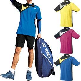 ヨネックス メンズ レディース ゲームシャツ テニス バドミントンウェア トップス ポロシャツ 半袖 送料無料 YONEX 10412