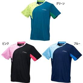 スティガ メンズ レディース 公認ユニフォーム ゲームシャツ STIGAシャツCN-II 卓球ウェア トップス 半袖Tシャツ 送料無料 STIGA CA43121 CA43151 CA43191