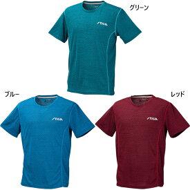 スティガ メンズ レディース 公認ユニフォーム ゲームシャツ STIGAシャツCN-I 卓球ウェア トップス 半袖Tシャツ 送料無料 STIGA CA43621 CA43641 CA43651