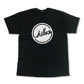 RHC Ron Herman (ロンハーマン): Chillax Circle ロゴ Tシャツ(ブラック/ホワイト)
