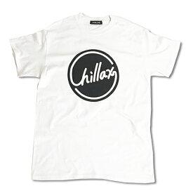 RHC Ron Herman (ロンハーマン): Chillax Circle ロゴ Tシャツ(ホワイト/ブラック)