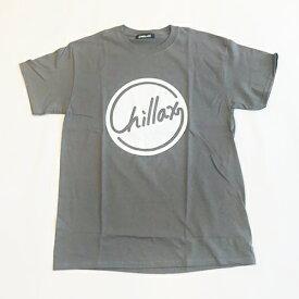 RHC Ron Herman (ロンハーマン): Chillax Circle ロゴ Tシャツ(グレー/ホワイト)