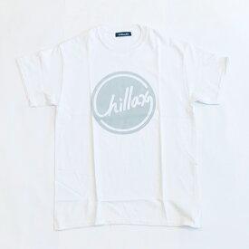RHC Ron Herman (ロンハーマン): Chillax Circle ロゴ Tシャツ(ホワイト/グレー)