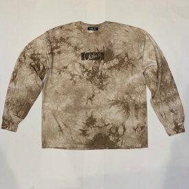 【完売御礼】RHC Ron Herman (ロンハーマン):Chillax Box Logo Tie Dye Tシャツ ベージュ
