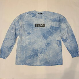 【完売御礼】RHC Ron Herman (ロンハーマン):Chillax Box Logo Tie Dye Tシャツ ブルー