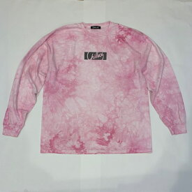 【完売御礼】RHC Ron Herman (ロンハーマン):Chillax Box Logo Tie Dye Tシャツ ピンク
