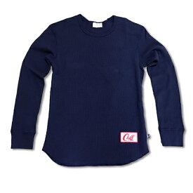 RHC Ron Herman (ロンハーマン):Chillax ワッフルロング Tシャツ (Navy)