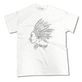 RHC Ron Herman (ロンハーマン):Chillax Native American Logo Tシャツ