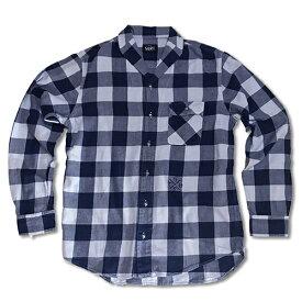 RHC Ron Herman (ロンハーマン)限定販売: SURT ネルシャツ サックス