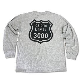 RHC Ron Herman (ロンハーマン): WXL (ダブルXL) Calorie limit ロングTシャツ Gray