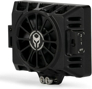 TILTA TA-CS-B キヤノンEOS R5/R6用の冷却システム 6層構造のデザインと7枚のブレードファン 静音 EXTポートが搭載