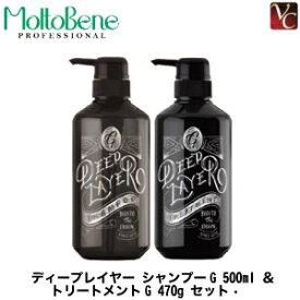 ビューティーエクスペリエンス 【モルトベーネ】 ディープレイヤー シャンプーG 500ml & トリートメントG 470g セット《ディープレイヤー トリートメント シャンプー セット 美容室専売 サロン shampoo treatment》