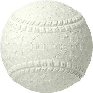 軟式野球用ボール NEW J号(ジュニア/小学生用)バラ/1球【NAIGAI】ナイガイゴム 軟式ボール18FW(JNEW)*00