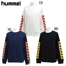 スウェットクルーネック 【hummel】ヒュンメル ● スウェットシャツ (HAP8003CA)*73