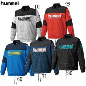 ジュニアハイブリッドピステトップ【hummel】ヒュンメルジュニアウィンドブレーカーシャツ20AW (HJW4192)*45