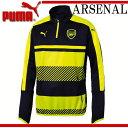 アーセナル 1/4トレーニングトップ【PUMA】プーマ ARSENAL AFC レプリカウェア16FW(749745-12)*30