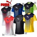 FTBLTRG グラフィック SS トレーニングシャツ【PUMA】プーマ サッカー プラシャツ17SS(655385)*62