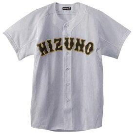 『ミズノプロ』メッシュシャツ(オープン型)(野球) (05グレー) 【MIZUNO】ミズノ 野球 ウエア ユニフォームシャツ (52MW17305)*25