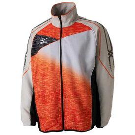 トレーニングクロスシャツ(ラケットスポーツ) 【MIZUNO】ミズノ テニス ウエア ウォームアップスーツ (62JC7021)*61
