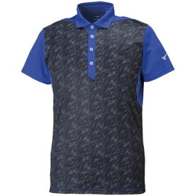 ソーラーカットポロシャツ(大きいサイズ)(メンズ)【MIZUNO】ミズノトレーニングウエア ミズノトレーニング Tシャツ/ポロシャツ(32JA8G70)*25