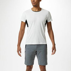ソーラーカットTシャツ メンズ 【MIZUNO】ミズノトレーニングウエア ミズノトレーニング Tシャツ ポロシャツ(32MA9013)*55