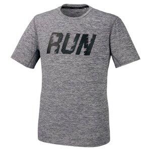 ドライデオドラントTシャツ(メンズ)【MIZUNO】ミズノランニング ウエア ランニングシャツ(J2MA0540)*20