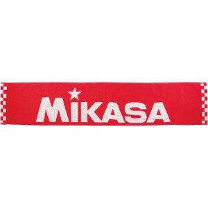 タオルマフラー アカ【MIKASA】ミカサマルチSPタオル(actl101ar)*00
