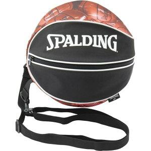 ボールバッグ マーブル RED【SPALDING】スポルディングバスケットボールケース(49001mrd)*00