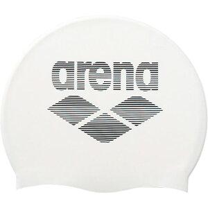 シリコンキャップ【ARENA】アリーナスイエイシリコンキャップ(ARN6400-WHT)*21