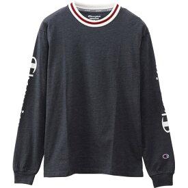 チャンピオン/Champion(レディース)LONG SLEEVE T-SHIRTマルチSPナガソデTシャツ(cwqs403-370)*40