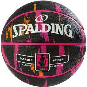 フォーハーブラックXピンク SIZE 6spalding(スポルディング)バスケットキョウギボール6ゴ(83875z)*10