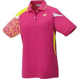 ウィメンズゲームシャツ【yonex】ヨネックステニスゲームシャツ W(20500-654)*21