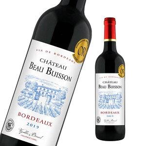 ワイン 赤ワイン シャトー・ボー・ビュイッソン ボルドー 辛口 フランスワイン 赤 スランス 金賞 金賞ワイン
